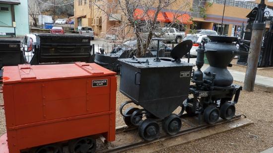 Bisbee Mining & Historical Museum: sanitation car