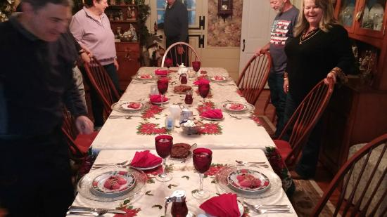 Richmond House Bed & Breakfast: Christmas time of the year
