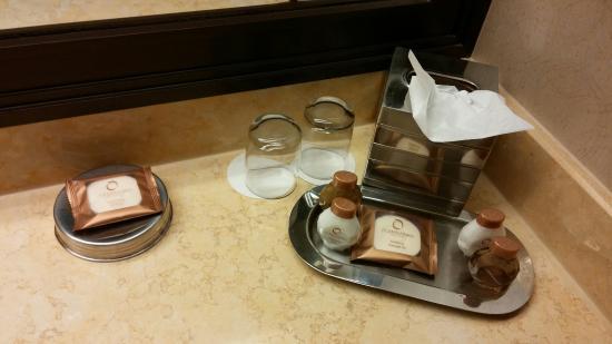 Bathroom Toiletries bathroom toiletries - picture of treasure island - ti hotel