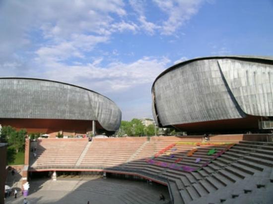 Sale Parco Della Musica Roma : Una delle grandi sale per concerti foto di auditorium parco
