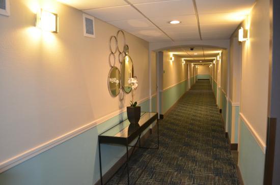 Best Western Hartford Hotel & Suites: Hotel Hallway