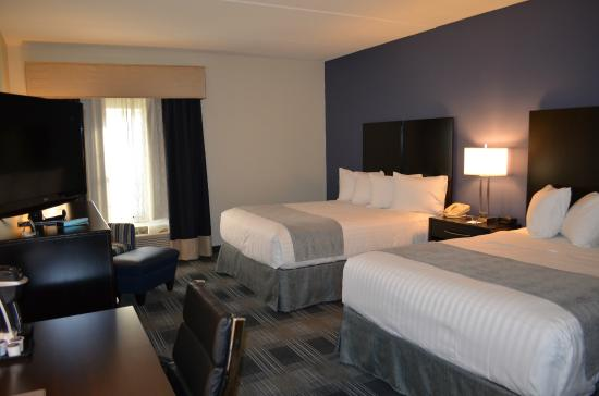 BEST WESTERN Hartford Hotel & Suites: Standard Double Room