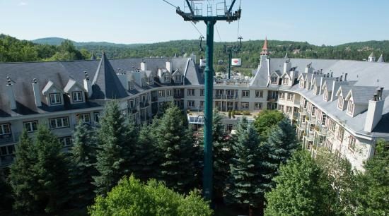 Residence Inn Mont Tremblant Manoir Labelle: Vue de l'hôtel / Hotel View