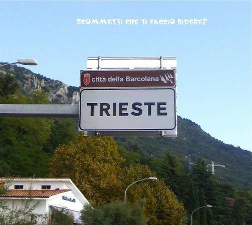 Le Ortensie di via Rossetti: strada per Trieste