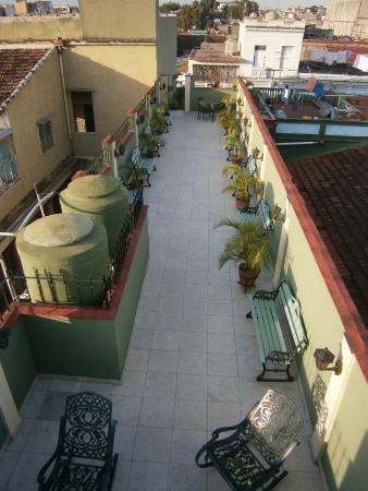 Hostal Colonial: Terraza