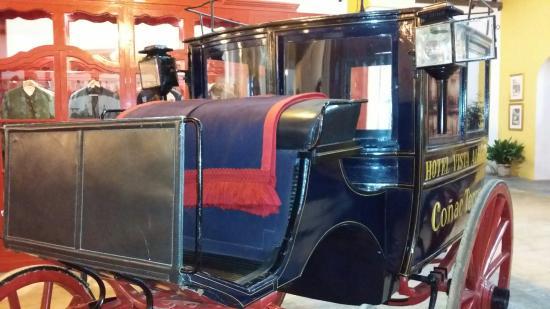 Pedro Domecq Bodega: Carruaje en el Museo