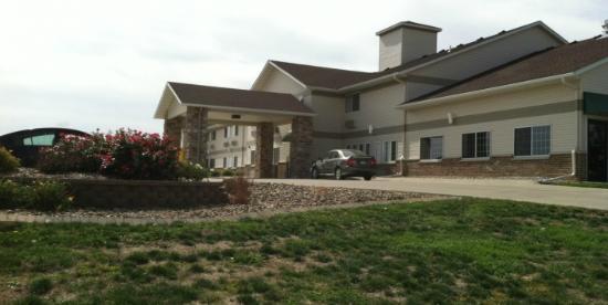Settle Inn & Suites Harlan: Hotel View