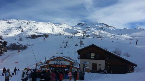 Pierre & Vacances Résidence Le Thabor : les pistes
