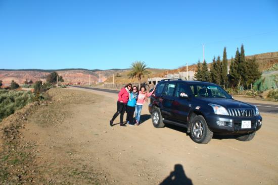 Desert Tours Morocco: el 4x4 de nuestra aventura