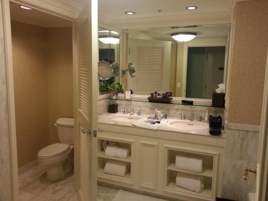 The Ritz Carlton Orlando, Grande Lakes: Nice Bathroom