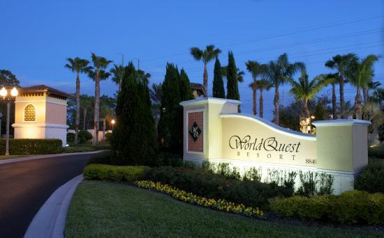 WorldQuest Orlando Resort Entrance