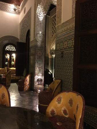 Riad Aliya: Inner court yard