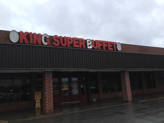 King Super Buffet: Exterior