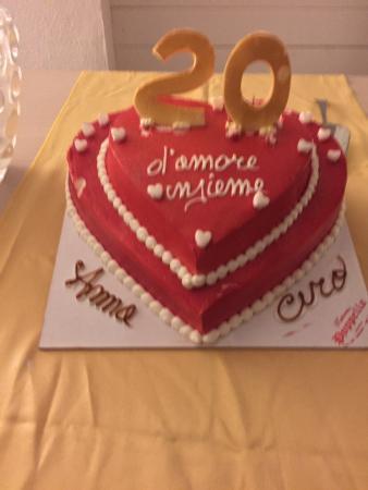 Anniversario Di Matrimonio 20.I Miei 20 Anni Di Matrimonio Foto Di Pasticceria Poppella