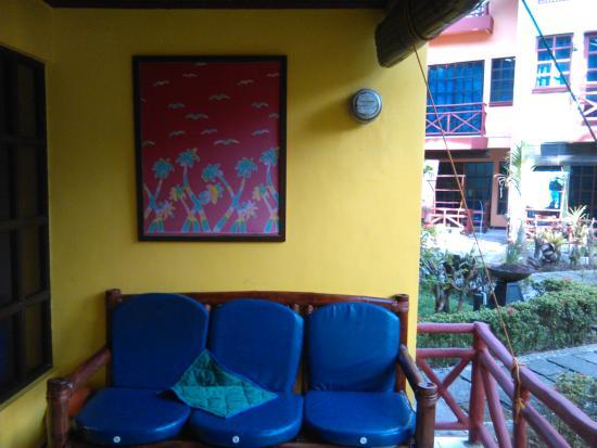 the Club Ten Beach Resort Boracay: tERRAZA