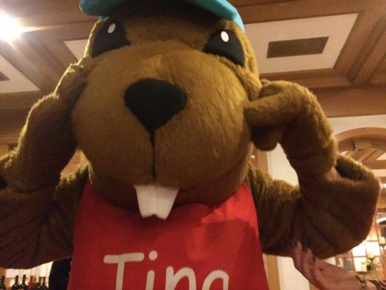 Dolce Casa Family Hotel & SPA : Tina la marmottina per i più piccoli