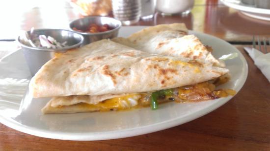 Estel's Dine by the Sea: Fish Quesadilla - so good