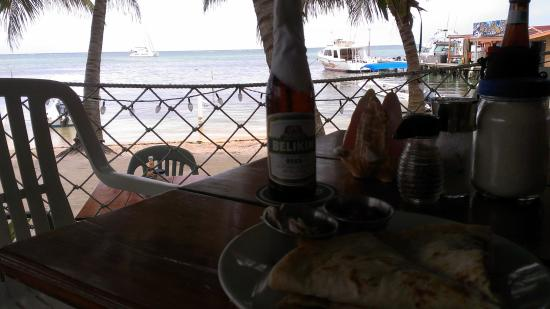 Estel's Dine by the Sea: View from our Table