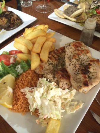 Il-Gifen Bar: Meals at 5 euros !!!