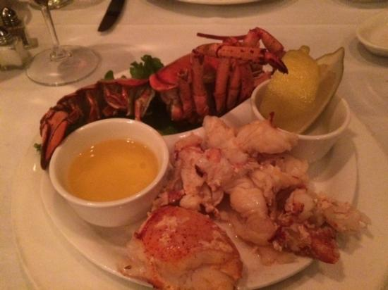 Frankie Rowland's Steakhouse: Try the Lobster!