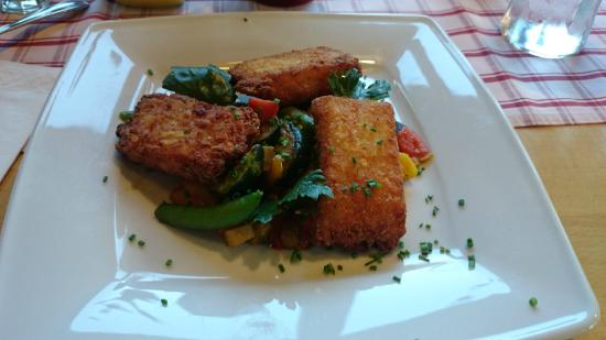 Zum Rappen Inn: Vegetarisch gerecht, kartofftaschen