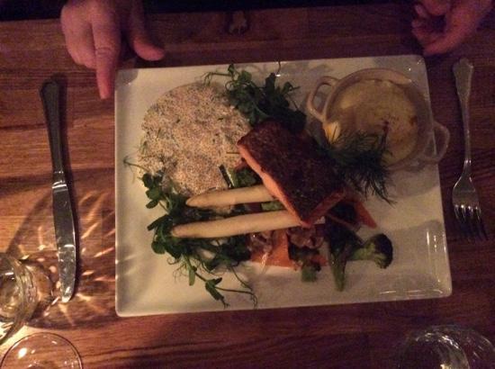 Salmon at Liten Krog, Åre.