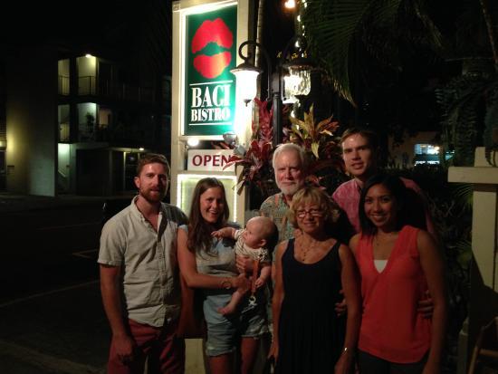 Baci Bistro: Happy Family!