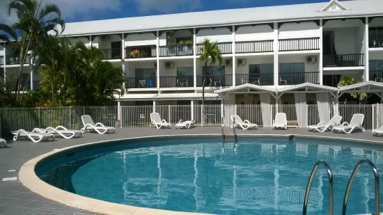 Bwa Chik Hotel & Golf: piscine et hôtel