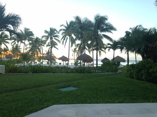 Villas Del Mar: View from porch of C105