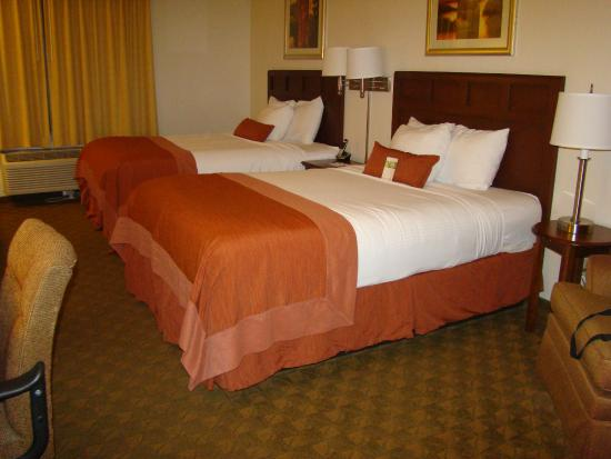 Wingate by Wyndham Tampa/At USF: Double room.