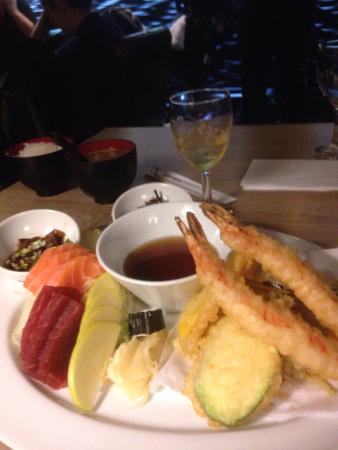 Naka : Menu tempura