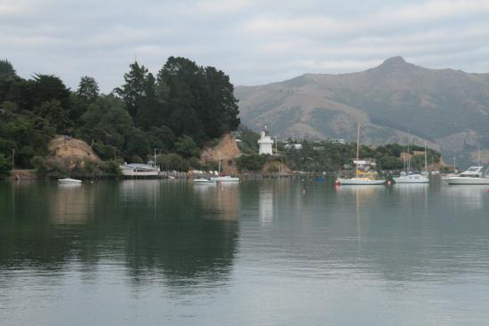 Akaroa Village Inn : A view from the main wharf