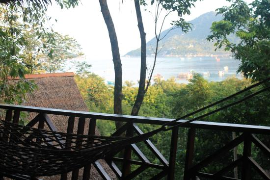 Koh Tao Royal Resort: View from the Bangalow's Balcony