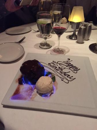 Truluck's Seafood, Steak and Crab House: Birthday Cake