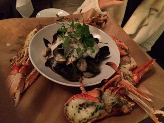 Tjuvholmen Sjomagasin: shellfish platter part 2