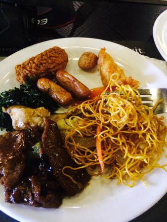 JRC Global Buffet Croydon: Tasty Food specially loved the Fried see weed