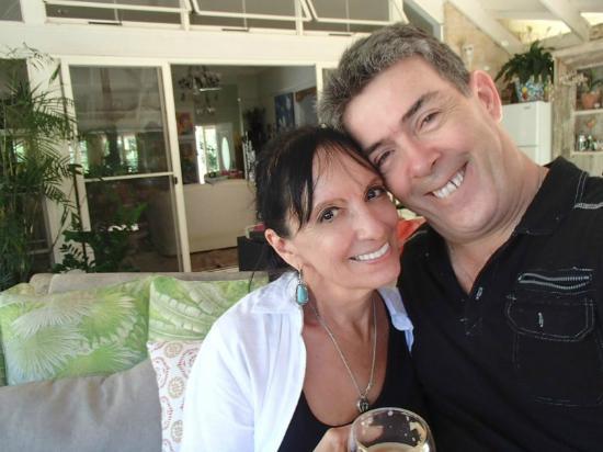 Noosa Valley Manor B&B Retreat: my husband and I