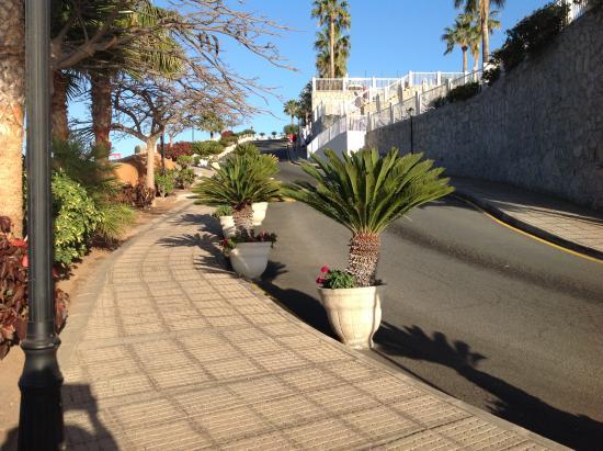 ClubHotel Riu Vistamar: Cardiac hill i referred to