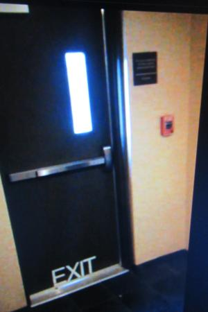 Hampton Inn & Suites Richmond/Virginia Center: Exterior door from inside