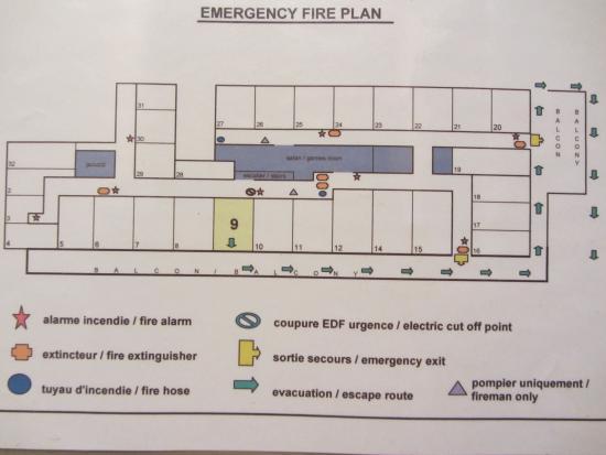 Chalet Les Grangettes : first floor plan