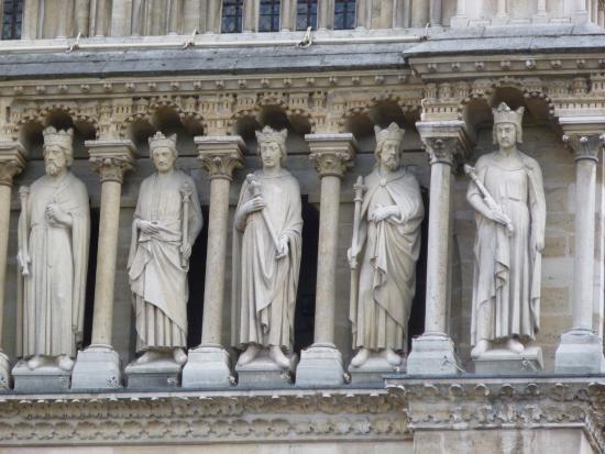 Catedral de Notre Dame: Galería de los Reyes