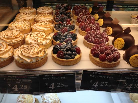 Meinhardts: Dessert case. As tasty as they were beautiful