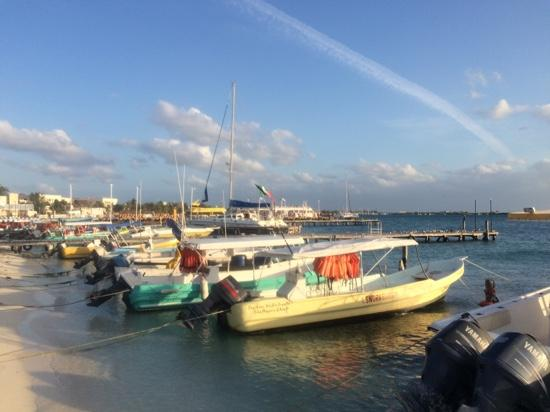 Caribbean Brisas: boats in front if Brisas