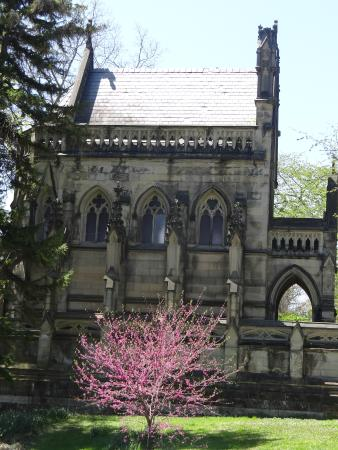 Spring Grove Cemetery & Arboretum: One of the mausoleums