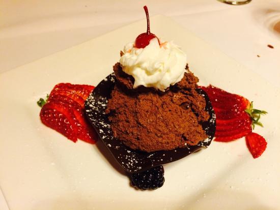 San Mateo, CA: Chocolate mousse