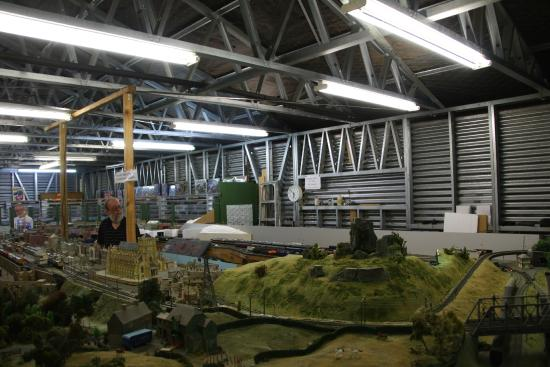 Eketahuna, New Zealand: Model Railway