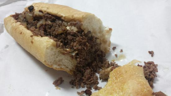 Large Marge's Philly Cheesesteak