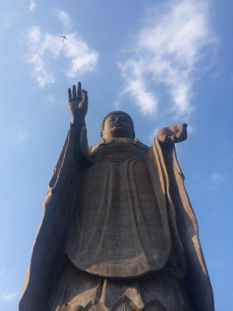 大仏様、下から。 - Picture of Buddha of Ushiku, Ushiku - TripAdvisor