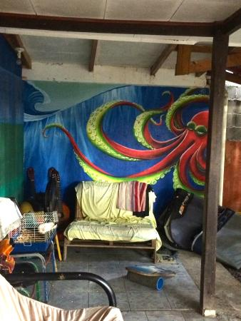 Las Camas Budget Hostel : painted by a former guest