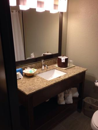 BEST WESTERN Airport Inn & Suites: Newly renovated bathrooms
